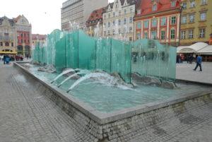 Fontanna Wrocław Rynek