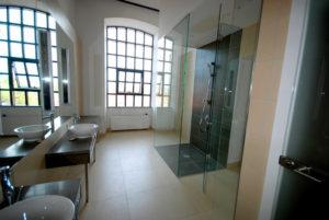 Lustro na wymiar, kabina prysznicowa